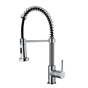 Vigo #VIG-VG15342 All in One 23-inch Undermount in Stainless Steel with Chrome Faucet Set 23''W x 19''D x 9-7/8''H
