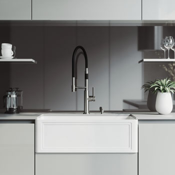 Sink and Norwood Magnetic Faucet Lifestyle 2