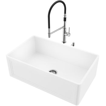 Sink and Norwood Magnetic Faucet Display View
