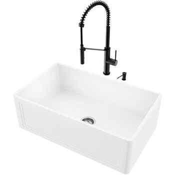 Sink and Livingston Magnetic Faucet Display View