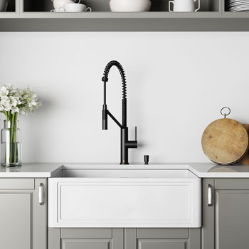 Sink and Livingston Magnetic Faucet Lifestyle 1