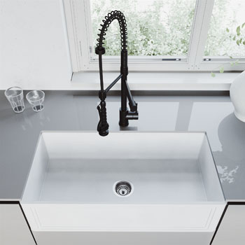 Sink with Zurich Faucet Lifestyle View 3
