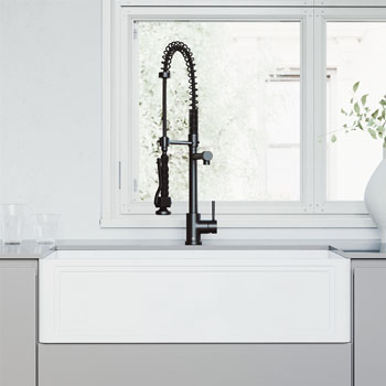 Sink with Zurich Faucet Lifestyle View 1