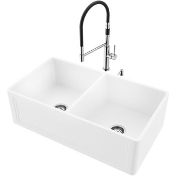 33'' Sink with Norwood Faucet Display View 1