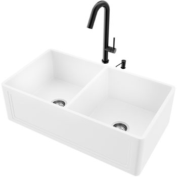 33'' Sink with Oakhurst Faucet Display View