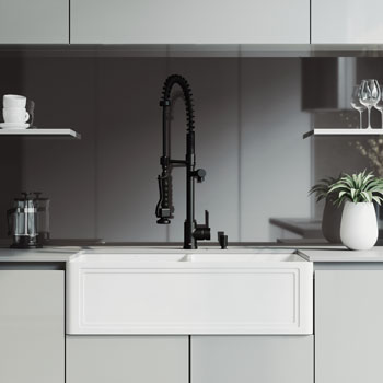 33'' Sink with Zurich Faucet Lifestyle View 1
