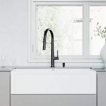 Sink with Greenwich Faucet Lifestyle View 2