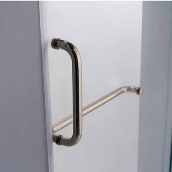 Vigo 36-Inch Frameless Shower Door