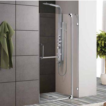 Vigo Frameless Shower Door