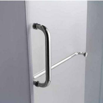 Vigo 48-Inch Frameless Shower Door