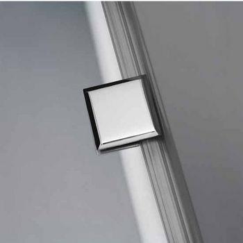 Vigo 66-Inch Frameless Shower Door