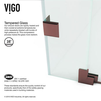 Oil Rubbed Bronze / Clear Product Detailed Info 2