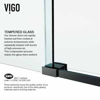 Black Tempered Glass