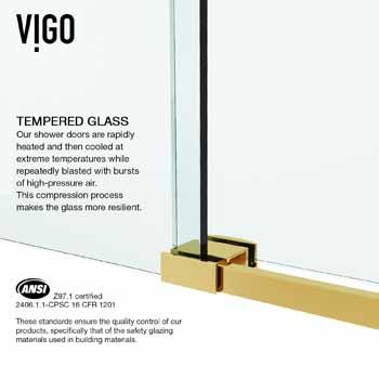 Matte Gold Tempered Glass