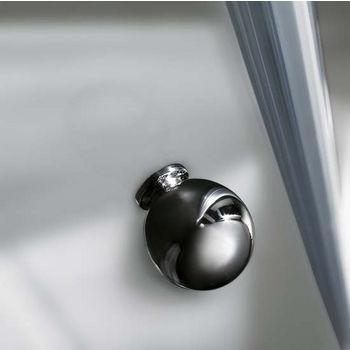 """Vigo Shower Enclosure with Low-Profile Base, 38 1/8"""" W x 38 1/8"""" L x 76 3/4"""" H"""