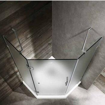Vigo 36 X 36 Frameless Neo-Angle Shower Enclosure