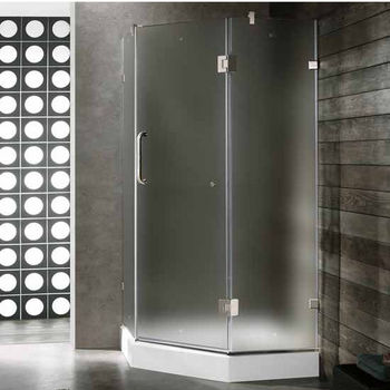Vigo 36 X 36 Frameless Neo-Angle Shower Enclosure