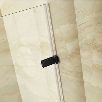 Vigo SoHo Frameless Shower Door and Clear Glass