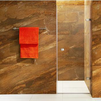Vigo Tempo Adjustable Shower Door with Clear Glass
