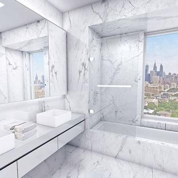 Bathtub Door Clear / Chrome