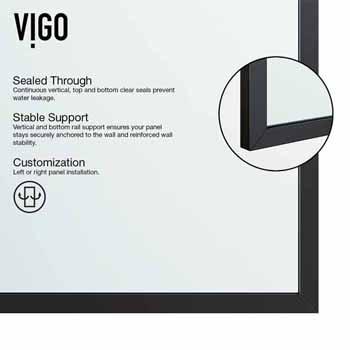 Durable, High Quality Matte Black Frame