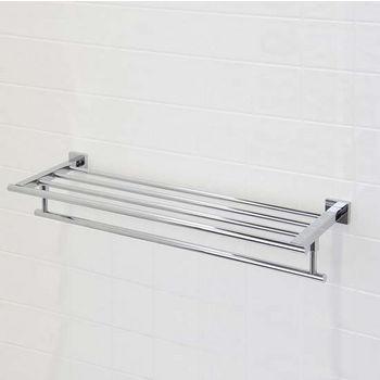 towel bars bathroom towel bars with shelf in chrome. Black Bedroom Furniture Sets. Home Design Ideas