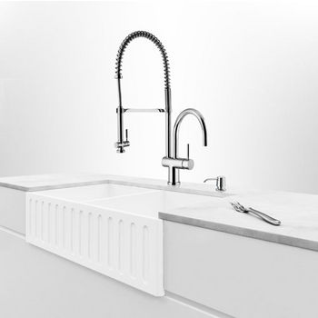 "36"" Sink Example Side View"