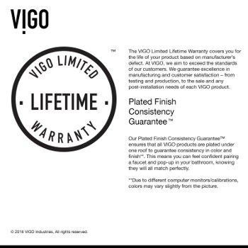 VGT1061 Limited Lifetime Warranty Info