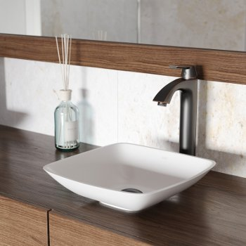 VGT1221 Sink Set w/ Linus Faucet Antique Rubbed Bronze