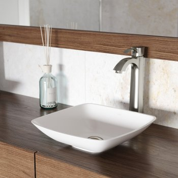 VGT1222 Sink Set w/ Otis Faucet Brushed Nickel