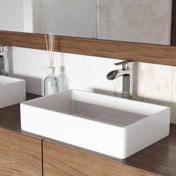 VGT1232 Sink Set w/ Niko Faucet Chrome