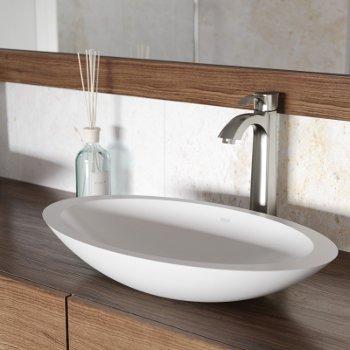 VGT1242 Sink Set w/ Otis Faucet Brushed Nickel