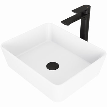 Vigo Sink with Norfolk Faucet Display View 1