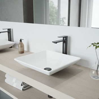 Sink with Norfolk Faucet Lifestyle View 2
