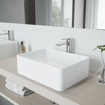 Sink with Norfolk Faucet Lifestyle View 1