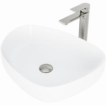 Vigo Sink with Norfolk Faucet Display View 1