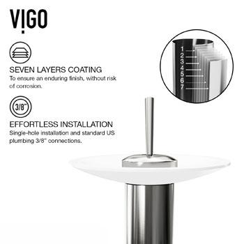 Vigo Waterfall Faucet Display View 3