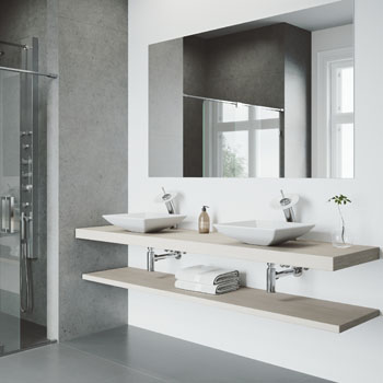 Sink with Waterfall Faucet Lifestyle View 1