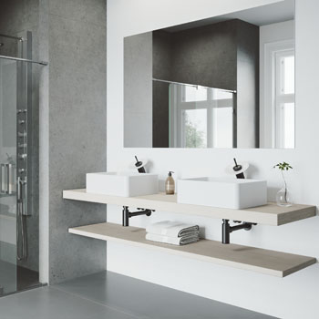 Sink with Waterfall Faucet Lifestyle View 2