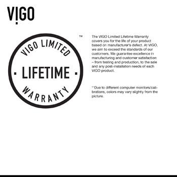 Vigo Sink Warranty
