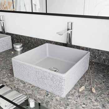 Sink Set w/ Gotham Faucet in Chrome w/ Pop-Up Drain