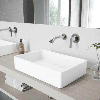 VGT952 Sink Set w/ Aldous Faucet Brushed Nickel