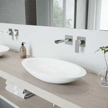 VGT978 Sink Set w/ Atticus Faucet Brushed Nickel