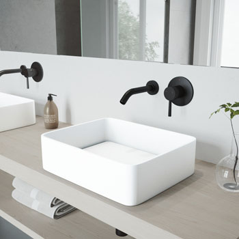 VGT995 Sink Set w/ Otis Faucet Matte Black