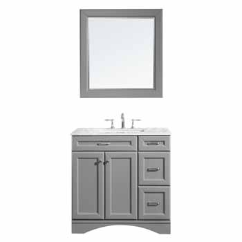 Grey - With Mirror - Display View