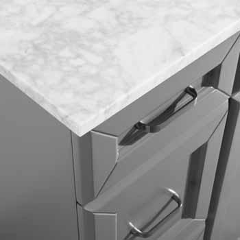 Grey - Drawers Close up