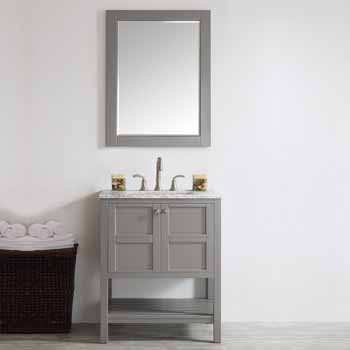 Grey - With Mirror - Lifestyle View 1