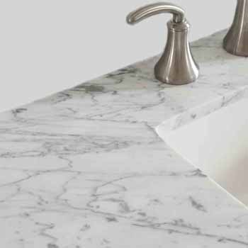 Grey - With Mirror - Counter Top
