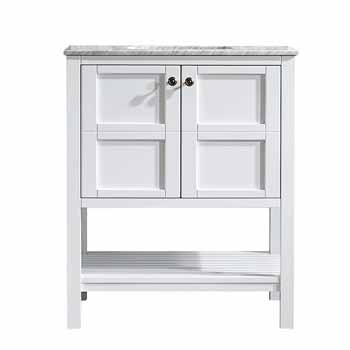 White - No Mirror - Display View 1