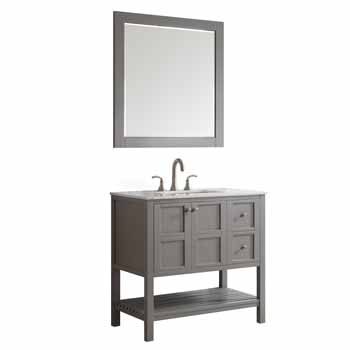 Grey - With Mirror - Display View 2
